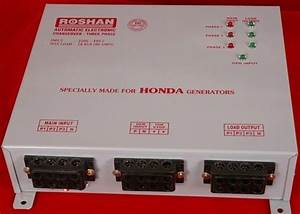 Roshan Changeover Switch Board  Rct Piece