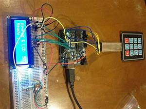 Keypad & LCD Display : basbrun com