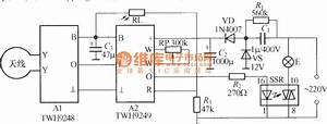 Microwave Radar Automatic Lamp Circuit 3  Twh9248  9249