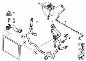 Original Parts For E60 525i N52 Sedan    Radiator   Cooling