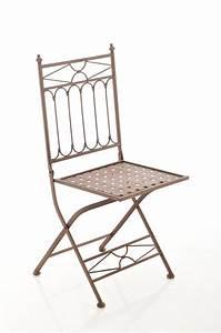 Gartenstuhl Metall Antik : klappstuhl asina antik braun gartenstuhl metallstuhl stuhl ~ Watch28wear.com Haus und Dekorationen