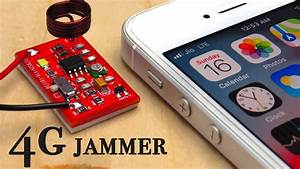 How To Make 4g-lte Cell Phone Signal Jammer