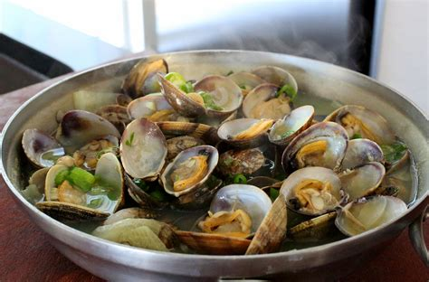 culinary cuisine clam stew jogaetang recipe maangchi com