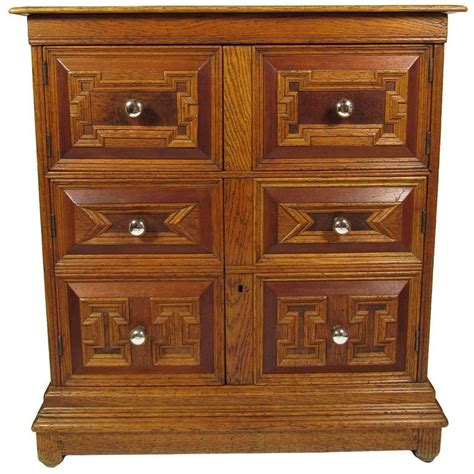 pulls for oak cabinets antique carved oak lift top cabinet chest with original