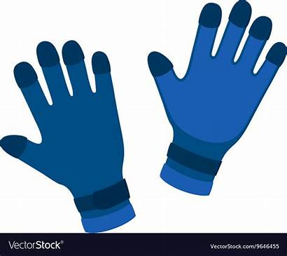 Gloves Cartoon Water Vector Glove Clipart Protective