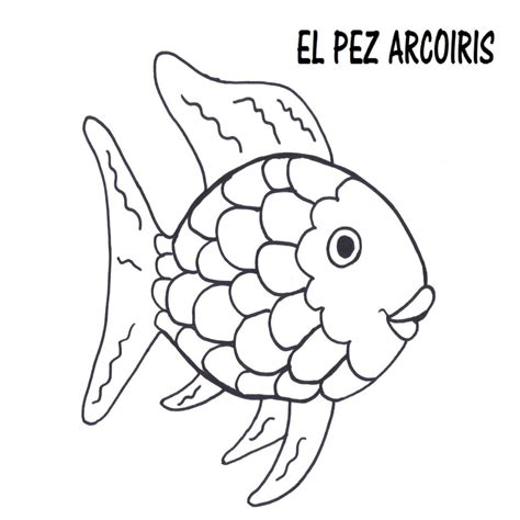 Letra Del Cuento El Pez Arcoiris Para Imprimir HT07 - Olcsorepulojegyek