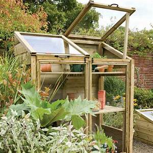 Fabriquer Une Serre En Bois : petite serre de jardin choix et conseils ~ Melissatoandfro.com Idées de Décoration