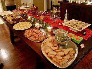 a housewarming party during the holidays