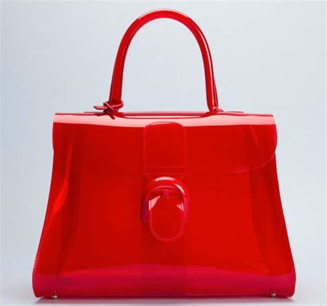 delvaux  created    vinyl handbag ive