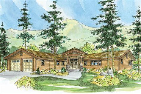 lodge style house plans viewcrest