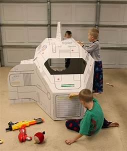 The Gardners  Cardboard Spaceship
