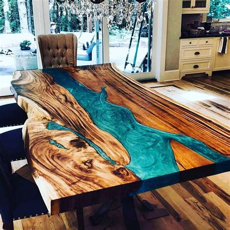 18 unique wood table ideas for modern designs 2019