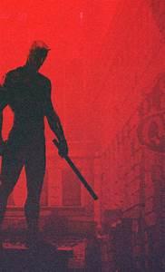 Download Daredevil Minimalism Artwork 540x960 Resolution ...
