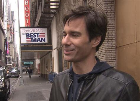 eric mccormack dad eric mccormack now playing the bad guy cbs news