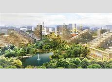 Odintsovo 2020 EcoCity Proposal de Architekten Cie