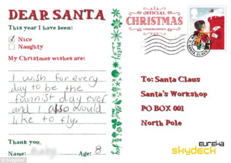 christmas wish list 2018 12 year old the hilarious letters to santa from adults after they hijacked children s post box daily mail
