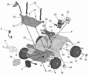 Power Wheels Get Set Go  Kart Parts