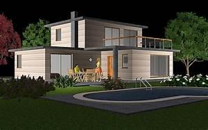 Maison Modulaire Bois : deltawood promotion de maisons modulaire bbc ossature ~ Melissatoandfro.com Idées de Décoration