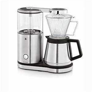 Wmf Mini Kaffeemaschine : wmf aromamaster kaffeemaschine mit thermoskanne filterkaffee 10 tassen tropfstopp ~ Orissabook.com Haus und Dekorationen