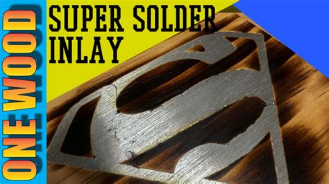 super solder inlay   woodworking projects