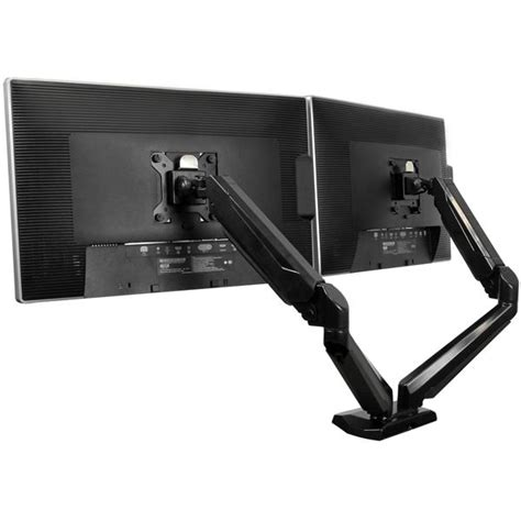 Dual Monitor Arms Desk Mount by Dual Monitor Mount With 2 Port Usb And Audio Pass Through