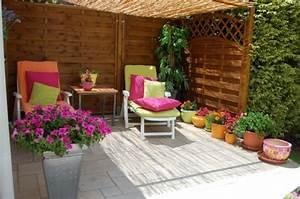 Decoration Jardin Terrasse : terrasse zen deco ~ Teatrodelosmanantiales.com Idées de Décoration