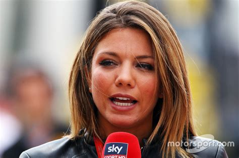 British Open Standings by Federica Masolin Sky F1 Italia Presenter At British Gp