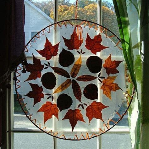 Herbst Fenster Dekoration by Fensterdeko Zum Herbst Kreative Vorschl 228 Ge Archzine Net