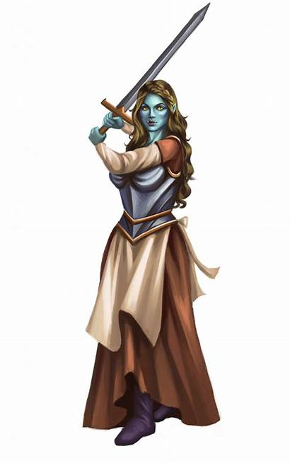 Orcs Orc Female Genius Shadow