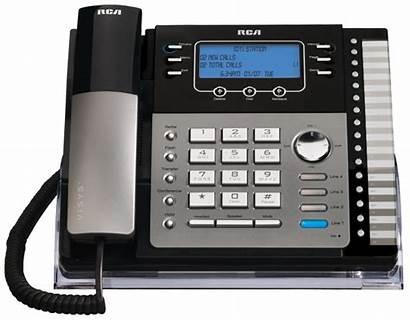 Line Intercom Phone Rca System Corded Telephone