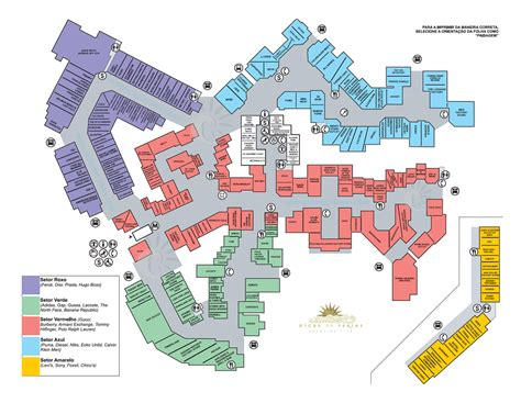 woodbury outlet map my