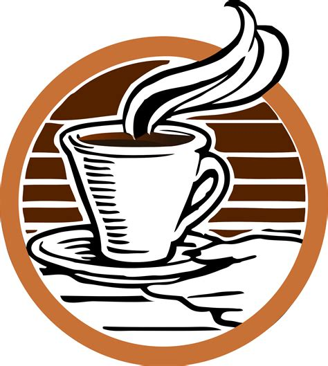 Coffee is a brewed drink that is made from roasted coffee beans that are extracted from the seeds and berries of the coffee plant. Download Coffee Logo Transparent Background HQ PNG Image | FreePNGImg