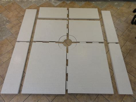 Custom Shower Pan Kits by Schluter Shower Wall Tile Westsidetile Com