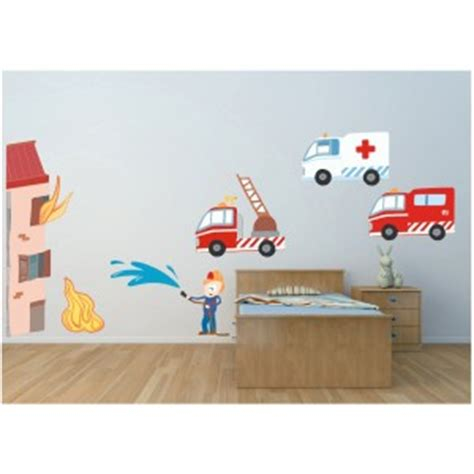 chambre garcon pompier decoration chambre garcon pompier visuel 4