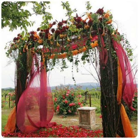 romantic fall wedding ceremony ideas wedding