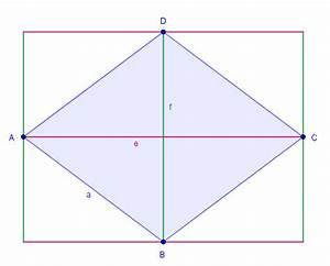 Diagonale Eines Rechtecks Berechnen : fl cheninhalt mit diagonalen ~ Themetempest.com Abrechnung