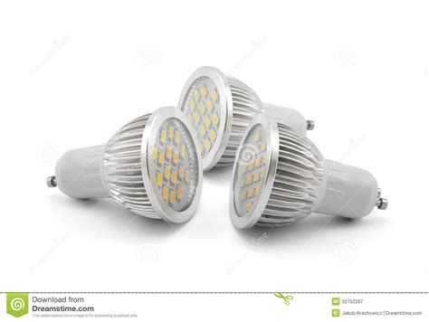 led light bulbs royalty free stock photography image
