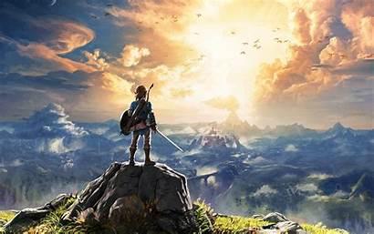 Zelda 4k Breath Wild Legend Wallpapers Wide