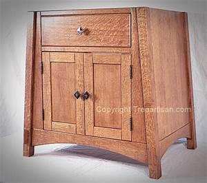 Bathroom Sink Cabinet Vanity Amish Mccoy Mission Oak 33 Colors