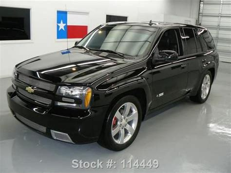 Buy Used 2009 Chevy Trailblazer Ss Htd Leather Sunroof 20