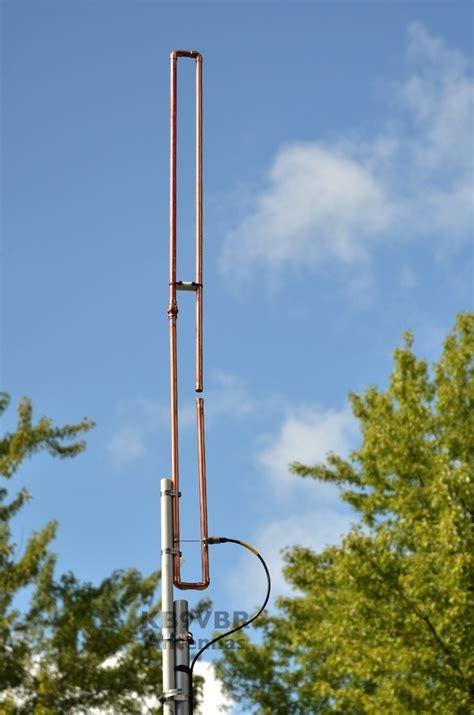 2 meter a way slim jim antenna kb9vbr j pole antennas