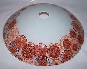 Lampenschirm 40 Cm Durchmesser : lampenschirm aus glas f r e 27 durchmesser 40 cm ivola ~ Bigdaddyawards.com Haus und Dekorationen