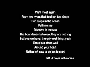 311 - Two Drops in the ocean (with lyric) - YouTube