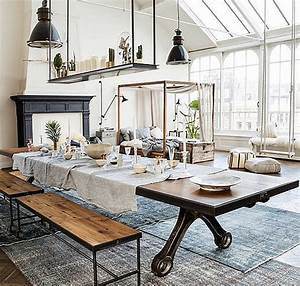 interior design decoration home decor loft modern With industrial design ideas for home