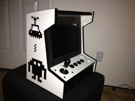bartop arcade cabinet plans mini bartop arcade machine stiggy s
