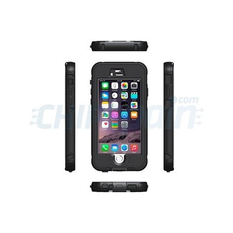 touch id iphone 6 funda waterproof touch id iphone 6 iphone 6s negro