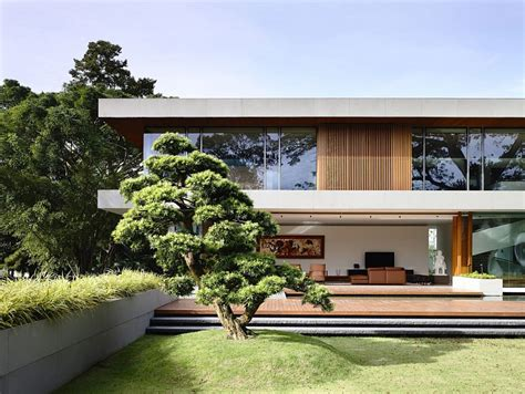 nature house design nature inspired private residence in singapore contemporary style