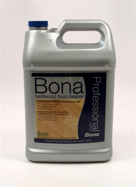 Bona Hardwood Floor Cleaner Concentrate by Bona Pro Series Hardwood Floor Cleaner Concentrate Gallon