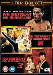 No Retreat, No Surrender Trilogy DVD Zavvi com