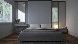 Beige Grau Wandfarbe : 1001 ideen f r schlafzimmer grau gestalten zum entlehnen ~ Sanjose-hotels-ca.com Haus und Dekorationen